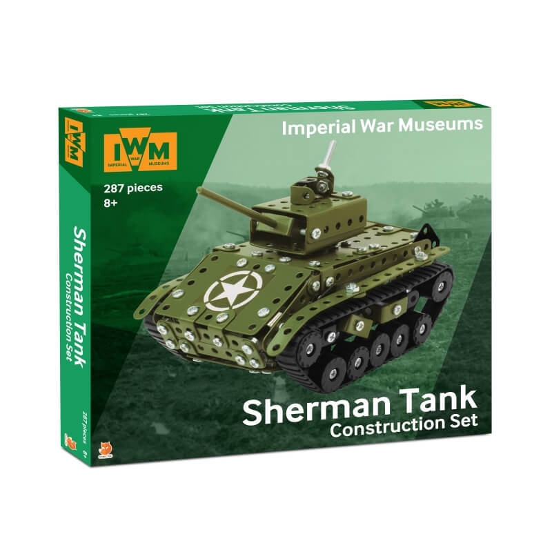 IWM Sherman Tank Construction Set