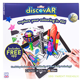 Augmented Reality Colouring Book - Galactic Quest