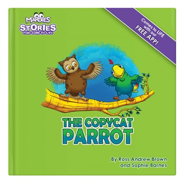 Interactive 'The Copycat Parrot' Storybook