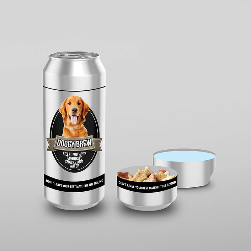 Doggy Brew - Portable Snack And Water Can