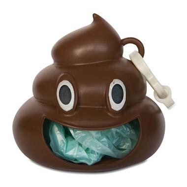 Emoji Poo - Dog Poo Bag Holder