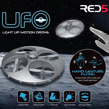 UFO Light Up Motion Drone