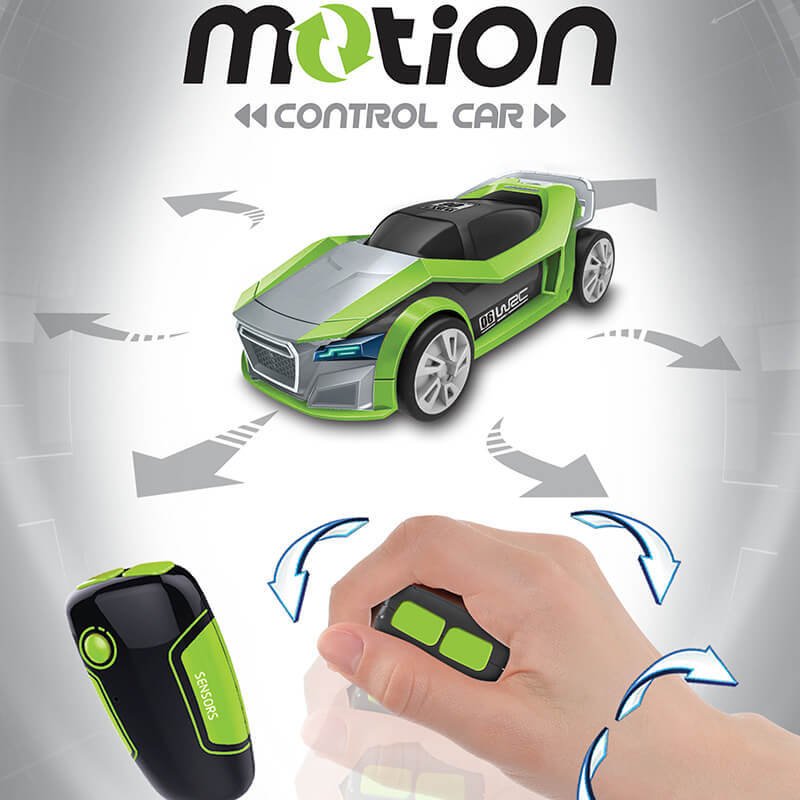 Motion Controlled RC Car