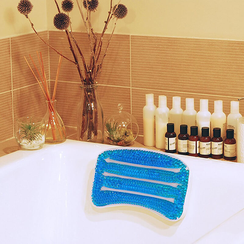 Soothing Gel Bath Billow Comforting And Convenient Gel Bath Pillow Can Be Affixed To Any Bath A Relaxing Gift For Every Occasion