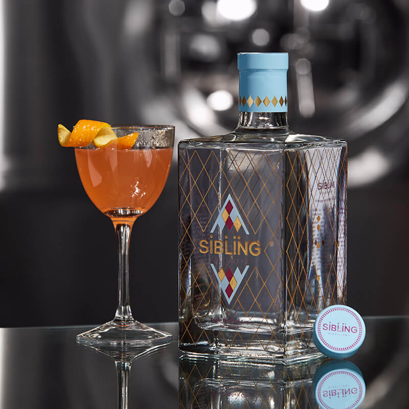 Sibling Distillery Triple Distilled Gin 70cl
