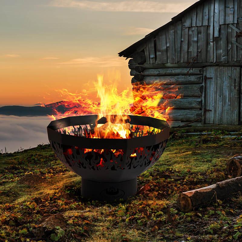 Fire Pit Bowl - Flames