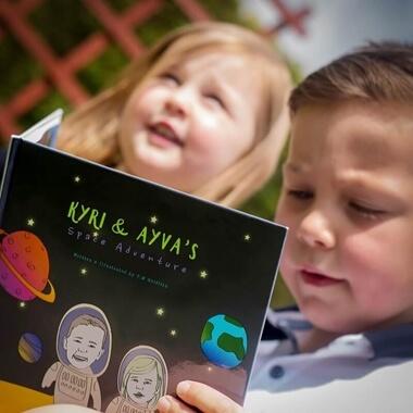 Personalised Space Adventure Book