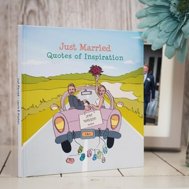 Personalised Just Married Book