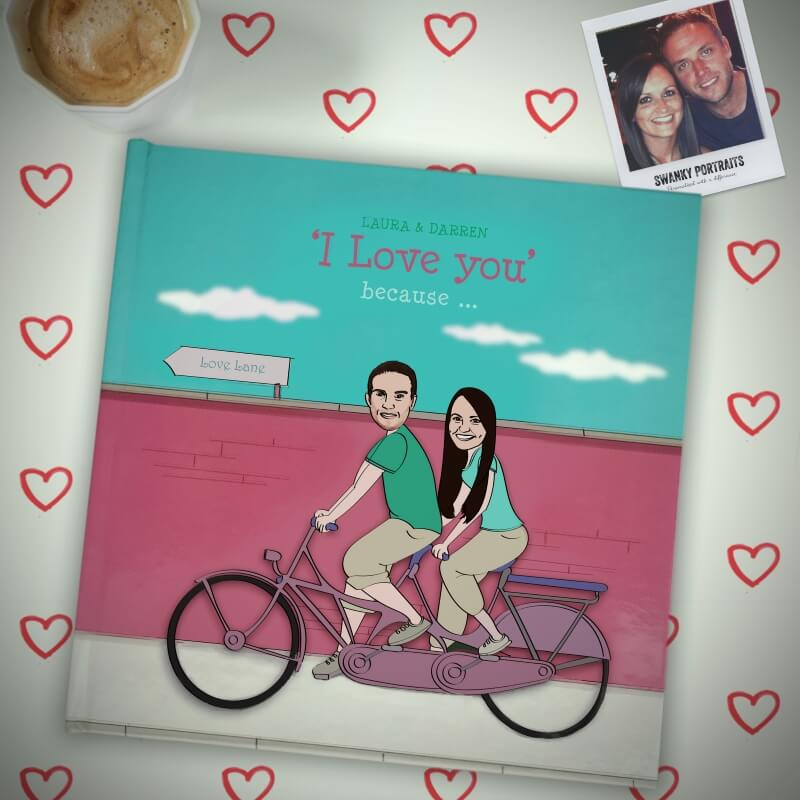 Personalised I Love You Book