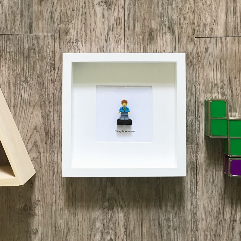 Personalised Build Me Mini Figure