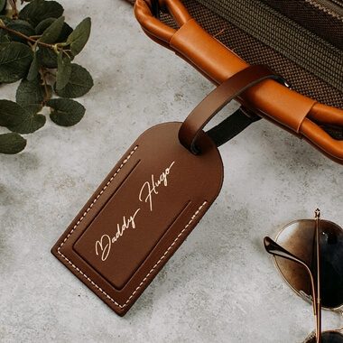 Personalised Daddy Luggage Tag