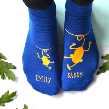 Personalised Cheeky Monkey Socks
