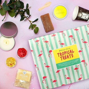 Tropical Treats Bath Collection
