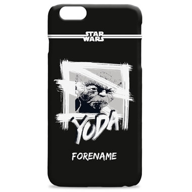 Personalised Star Wars Yoda iPhone 7 Plus Phone Case