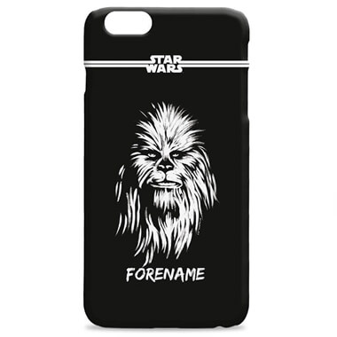 Personalised Star Wars Chewbecca iPhone 7 Plus Phone Case