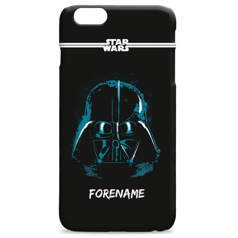 new concept bd5c8 ab2b1 Personalised Star Wars Darth Vader iPhone 7 Plus Phone Case