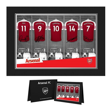 Personalised Arsenal Dressing Room Photo Folder