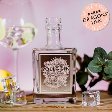 Collagin - Gin With Added Collagen 50cl & Birthday Gift Ideas and Presents for your Wife - Buy from Prezzybox.com