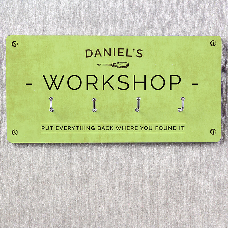 Personalised Workshop Hooks