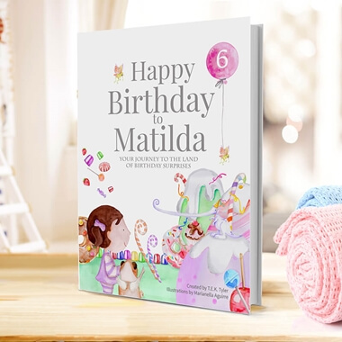 Personalised Children's Birthday Book