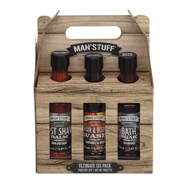 Man'Stuff Ultimate 6 Pack Body Set