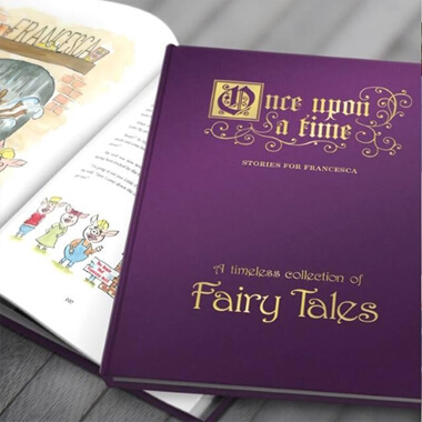 Personalised Deluxe Fairy Tale Book