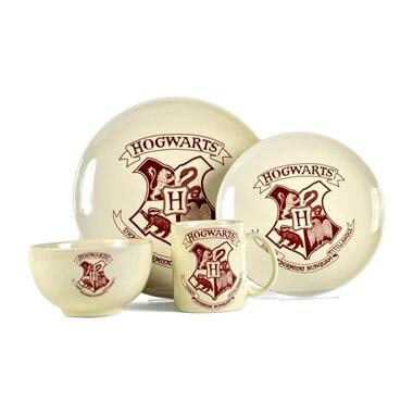Harry Potter 4 Piece Dinner Set - Hogwarts