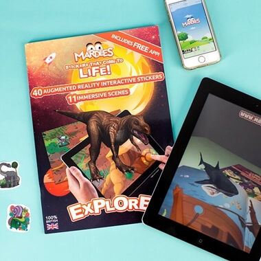 Augmented Reality Sticker Book - Explore