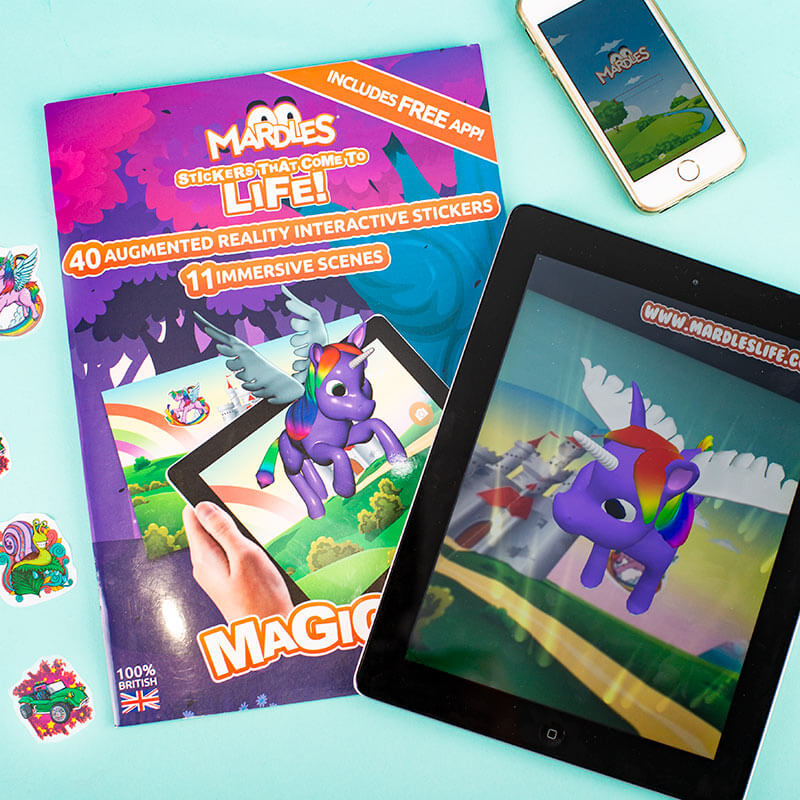 Augmented Reality Sticker Book - Magical