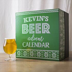 Personalised Beer Advent Calendar