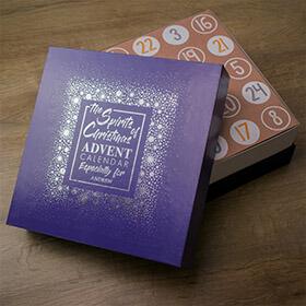 Personalised Alcohol Miniature Advent Calendar