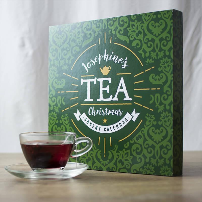 Personalised Tea Advent Calendar