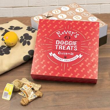 Personalised Dog Treats Advent Calendar