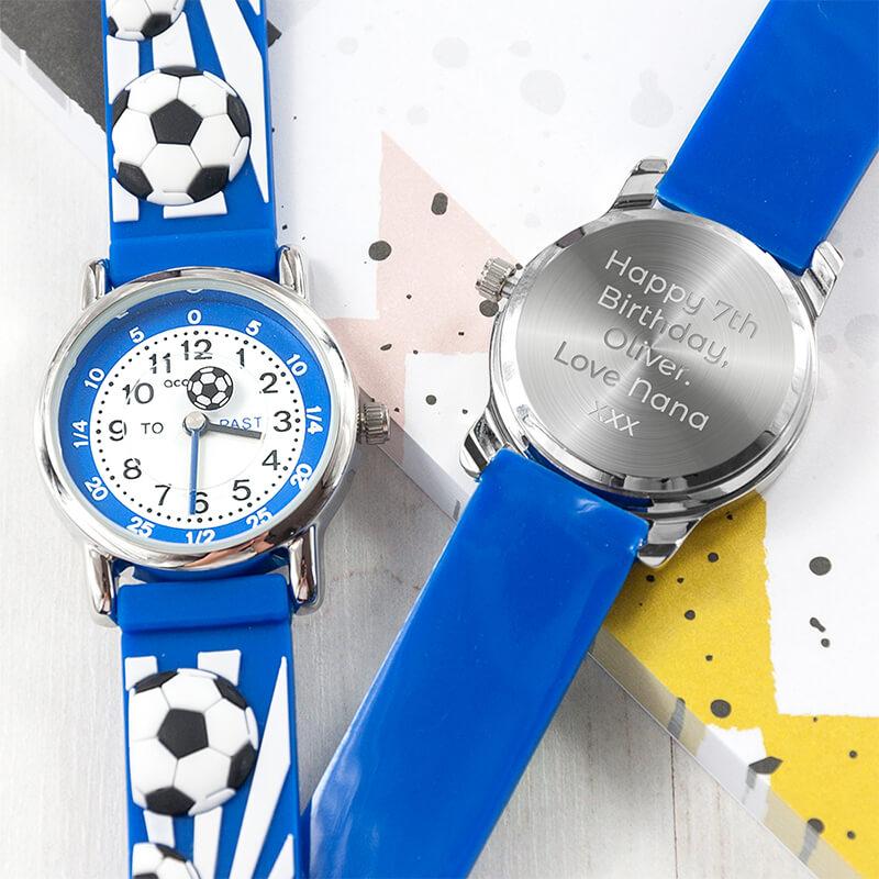 Personalised Kids Football Watch