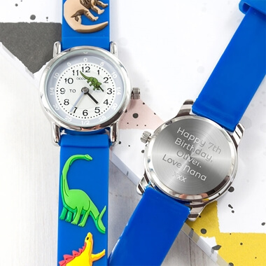 Personalised Kids Dinosaur Watch