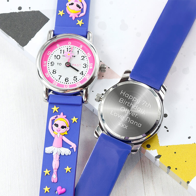 Personalised Kids Ballerina Watch