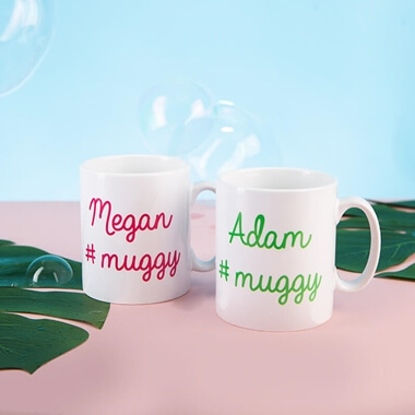 Personalised #Muggy Mug