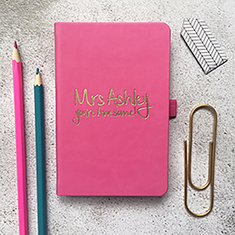 Personalised You're Awesome Teacher Notebook