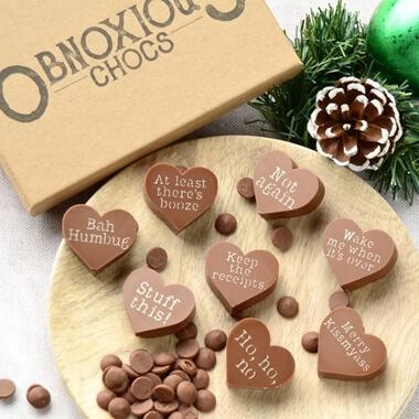Obnoxious Chocolates - Christmas