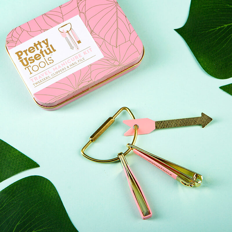 Pretty Useful Tropical Travel Manicure Kit
