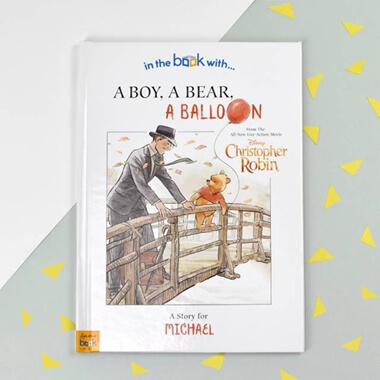Personalised Christopher Robin: A Boy, A Bear, A Balloon Children's Book
