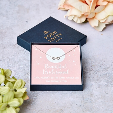 Personalised Bridesmaid Necklace