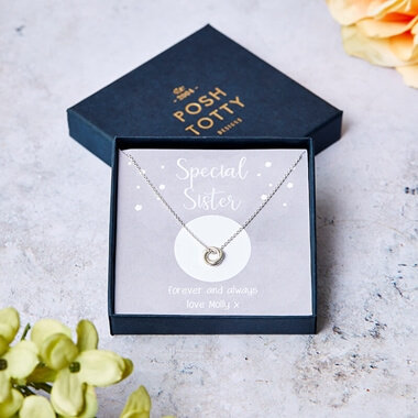 Personalised Special Sister Necklace