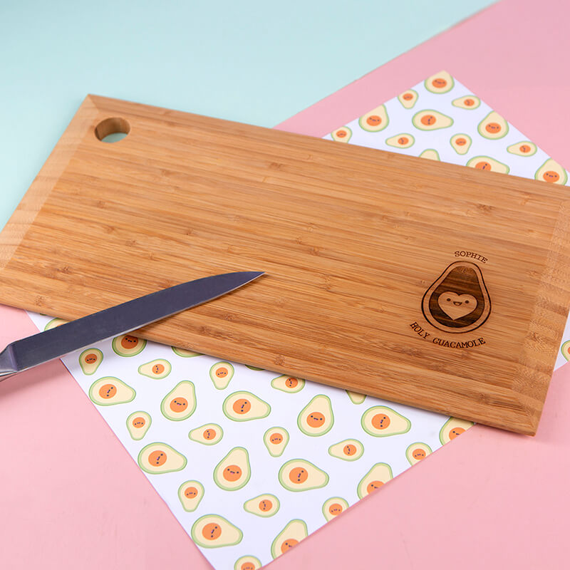 Personalised Holy Guacamole Chopping Board
