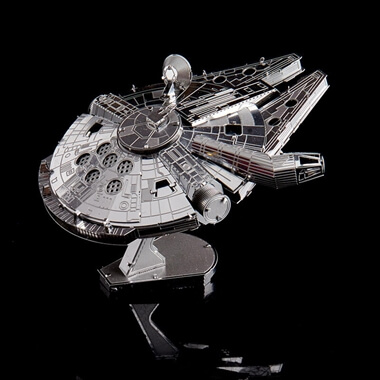 Metal Earth Millennium Falcon 3D Model Kit