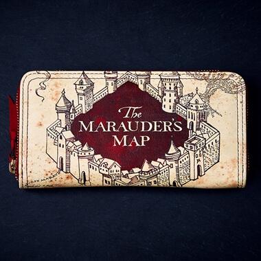 Harry Potter Marauders Map Purse