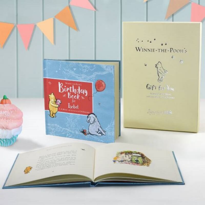 personalised winnie the pooh birthday book buy from prezzybox com
