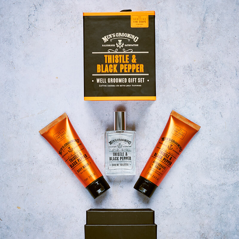 Men's Well Groomed Gift Set