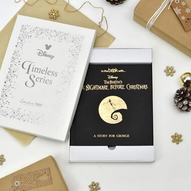 Personalised Nightmare Before Christmas Timeless Edition Book