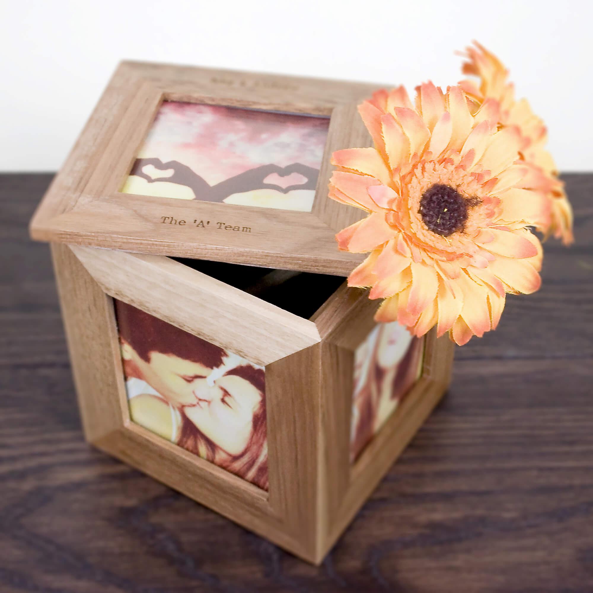 Personalised Photo Frame Keepsake Box Buy From Prezzybox Com